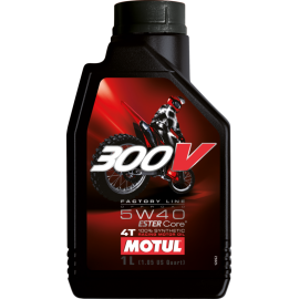 300V Factory Line Off Road 5W40 MOTUL